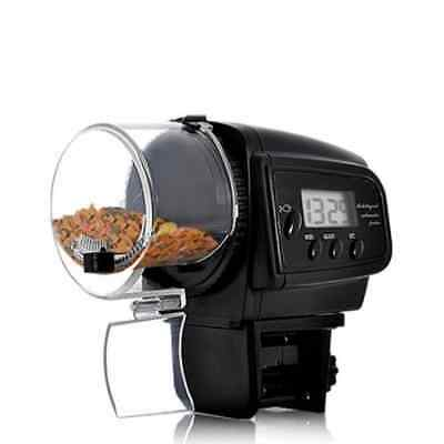 BW Automatic Fish Feeder with LCD Display (Anti-Jam Design)