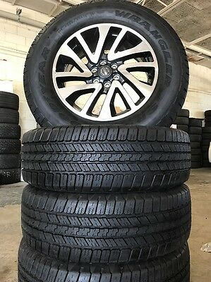 Nissan Navara Wheels And Tyres Brand New Package With Goodyear Tyres 265/65/18
