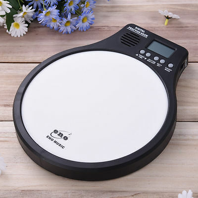 ENO Electronic Digital Practice Drum Pad Metronome Speed Detection Tap Counting