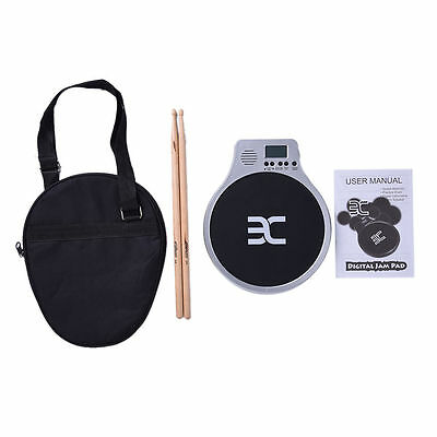EX DT40 3 in 1 Electronic Practice Drum Pad Metronome/Count/Speed Test Training