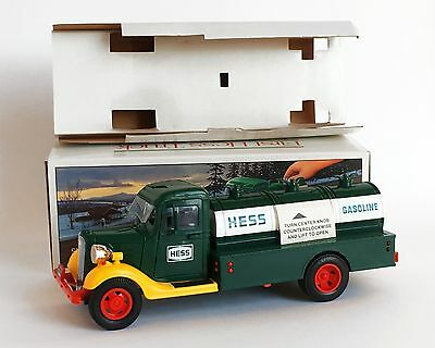 Lights Up MINT NEW First Hess Truck Toy Bank Stamped 1980 Amerada Mint