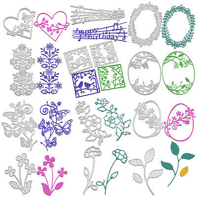 Metal Cutting Dies Stencil DIY Scrapbooking Photo Album Paper Card Craft Decor