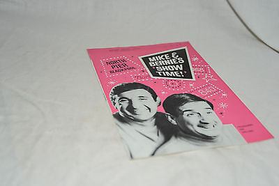 """1968 Vintage North Theatre Blackpool Programme: MIKE AND BERNIE'S """"SHOW TIME"""""""