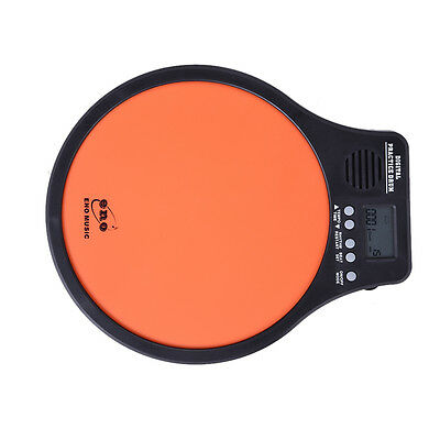 ENO Electronic Digital Practice Drum Pad Metronome Speed Detection Tap Trainer