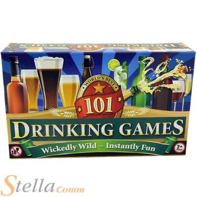 101 DRINKING GAMES Premium Edition 18+ Adult Party Fun