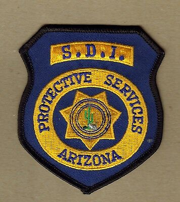 Arizona Protective Services S.D.I. Patch