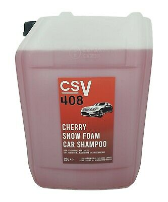 CHERRY Fragrance SNOW FOAM CONCENTRATED 100:1 20L Lorries, Vans, Cars and Buses.