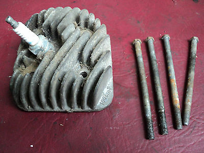 PEUGEOT SPEEDFIGHT 1 & 2 100cc CYLINDER HEAD PLUG & BOLTS