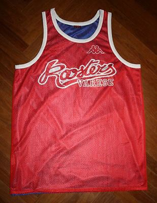 Canotta basket MATCH WORN VARESE ROOSTERS POZZECCO MENEGHIN basket FIBA NBA GAME