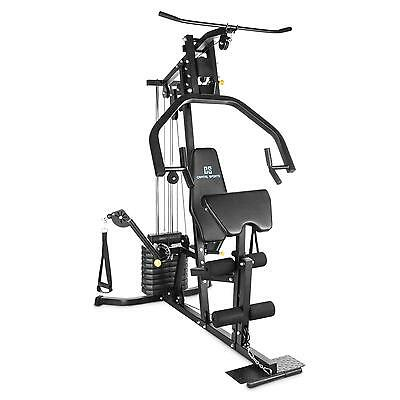 Capital Sports Multi Kraft Station Kabel Trainer Fitness Heim Home Gym Workout