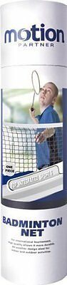 Motion Partner Competition Replacement Mesh Badminton Court Net Standard Size UK