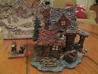 """Boyds Bearly Built Villages """"The Bears Den... Edmund's Hideaway"""" Limited Edition"""