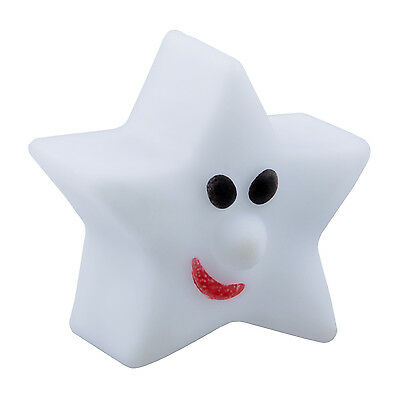 07S8 Cute Star-Shape Color Changing LED Lamp Decoration Night Light