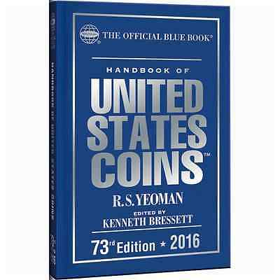 2016 Blue Book Of US Coins Hardcover Bluebook IN STOCK & SHIPPING