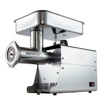 LEM Products W782A Stainless Steel Big Bite Electric #32-Meat Grinder (1.5-HP)