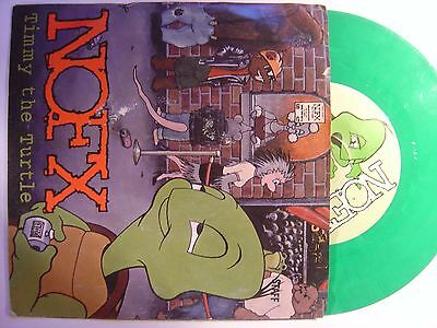 NOFX timmy the turtle US 45 FAT WRECK CHORDS 1999*green vinyl*PUNK ROCK*
