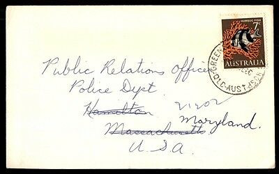 Australia Queensland Hospital Cancel On 1966 7C Fish Cover To Us