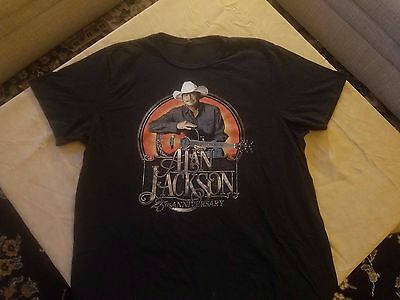 2015 Alan Jackson Concert T Shirt 2Xl 25Th Anniversary Tour