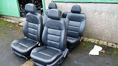 Vauxhall Signum Leather Interior Black / Heated / Electric / Memory Complete