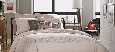 Kenneth Cole Reaction Home Bliss 1 Euro Pillow Shams  Blush Pink