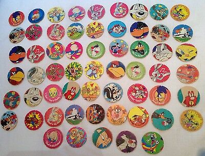 59 Tazo Collectable Collectors 90's Game Looney Toons Walkers Crisps Tazo's