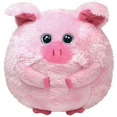 TY Beanie Ballz - BEANS the Pig (Regular Size - 5 inch) Boys Girls 3+ MWMT