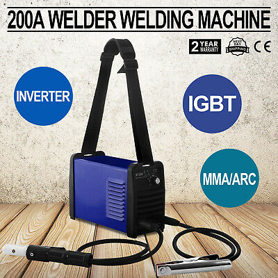 200A 220V Igbt Inverter Welder Manual Welder Zx7-200 Mma /arc Welder Hot Updated