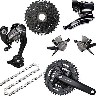 Shimano Groupset 3x9 - Kopmplettgruppe MTB- complete shifting group