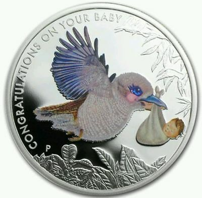 2014 Newborn Baby 1/2 oz Silver Proof Coin Perth Mint Original Packaging