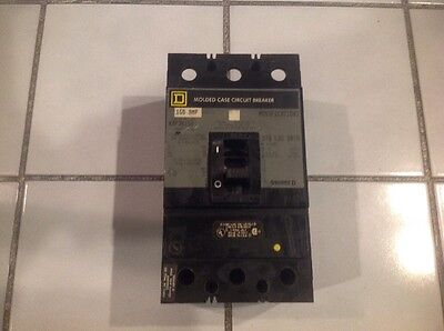 SQUARE D KAL 3 POLE 150 AMP 600v KAL36150 Circuit Breaker Gray label