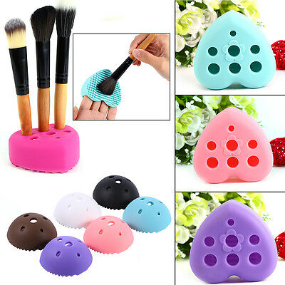 Silicone Cleaners Egg Cleaning Glove MakeUp Washing Brush  Cleaners Tool  LJ