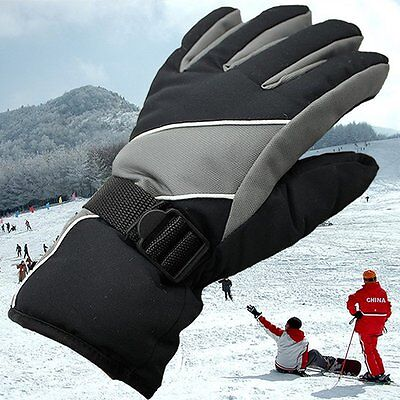For Outdoor Sports Men Anti-slip Winter Skiing Snowboard Motercycle Warm Gloves