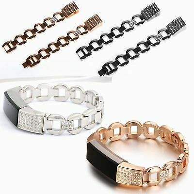 Replacement Luxury Metal Stainless Steel Watch Band Wrist strap For Fitbit Alta