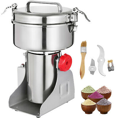 1000G Electric Herb Grain Mill Grinder High Speed Seasoning Feed 2800W  Powder