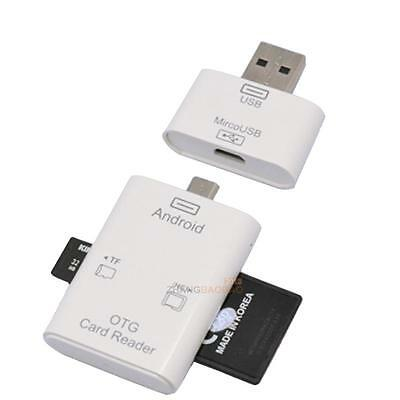 5 in 1 Micro USB OTG SD TF Card Reader Connection Kit For Android Phones PC New