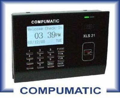 Compumatic XLS 21 PIN Entry Package 25 employee CompuTime101 software XLS21PIN