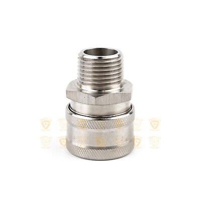 "1/2"" NPT Female Quick Disconnect Stainless Steel Homebrew"