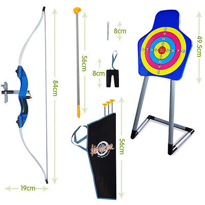 Infrared Archery Bow and Arrow Set W/ Arrows and Shooting Target Kids Sport Toy