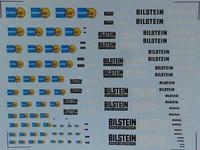 DECAL BILSTEIN 1/43e ,1/32e, 1/24e et 1/18e