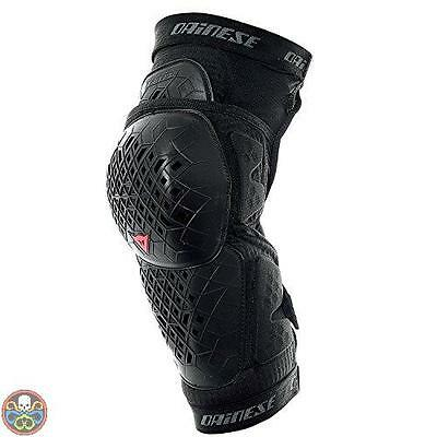 Dainese Tg: Large Nero Armoform Knee Guard Ginocchiere L Nuovo