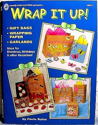 """Wrap It Up"" Paper Craft Book: Make-Your-Own Gift Bags, Wrapping, Tags, Garlands"