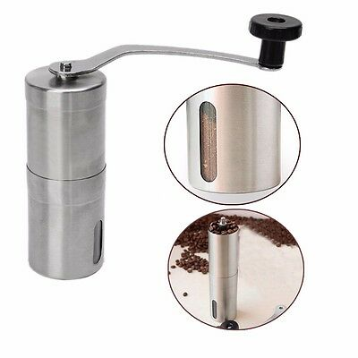 Mini Manual Coffee Grinder Bean Mill Stainless Steel Kitchen Hand Grinding Tool
