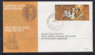 FDC  SMALL COOK 30c  RARE COVER!!!!
