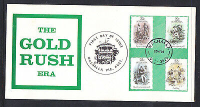 Souvenir Covers: 1981 The Gold Rush Era Walhalla