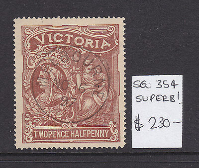 1897 VICTORIA CHARITY 2 1/2d BROWN,    MAGNIFICENT STAMP!!!!!!!!!!!