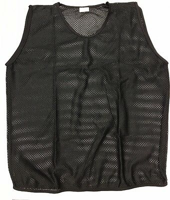 6x FOOTBALL MESH TRAINING SPORTS BIBS Youth and Adult Sizes