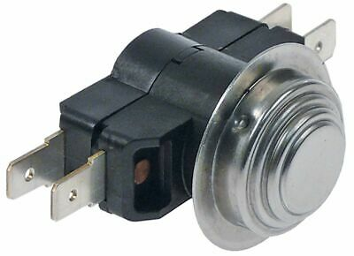 BI-METAL THERMOSTAT SWITCH-OFF TEMP.66/57°C NC/NO 2-POLE 16A F6.3 Fagor Z718405