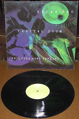 """MIX 12"""" BRIAN ENO/MOBY Fractal zoom (Opal 92 UK) electro ambient techno dance EX"""