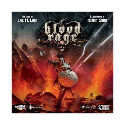 BLOOD RAGE edizione italiana ADRIAN SMITH bloodrage VICHINGHI età 14+ ASTERION