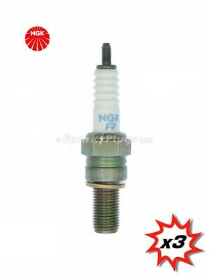 3x NGK R0045Q-11 Racing Spark Plug 5957. Set Of 3 Plugs. Fast Despatch